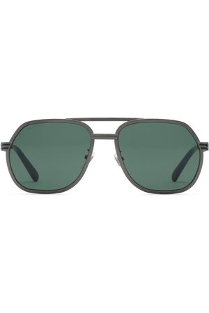 Gucci Navigator frame sunglasses