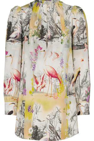 Etro Printed cotton blouse