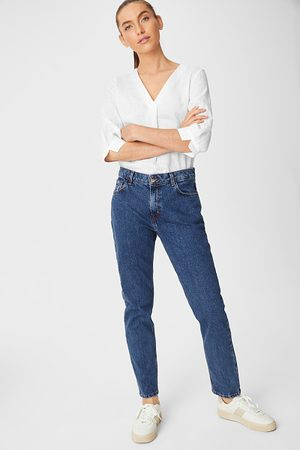 C&A Dames Straight - Premium straight tapered jeans