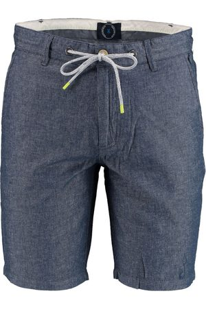 Bos Bright Blue Heren Shorts - Stanley Chino Short W. Cord 21109ST05SB/268 jeans