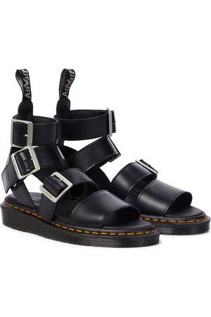 Rick Owens X Doc Marten Gryphon leather sandals