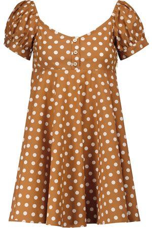 Caroline Constas Dina polka-dot minidress