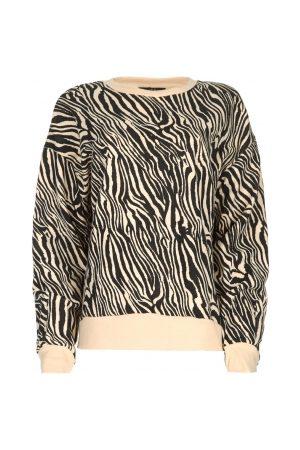 SET Sweatshirt met zebraprint Yessie