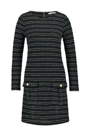 FREEBIRD Bouclé jurk met lurex details Lizzy