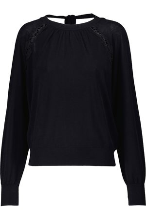Chloé Cotton and silk sweater