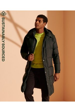 Superdry Cult Studios Limited Edition lange jas van gerecycled dons