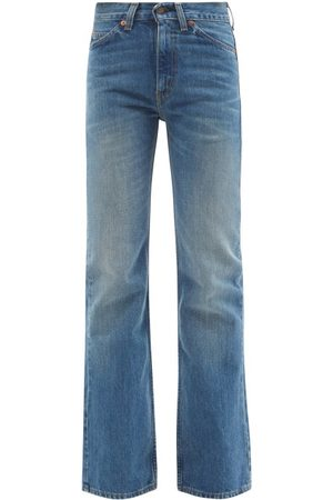 VALENTINO X Levi's 517 Upcycled Bootcut Jeans - Womens - Denim