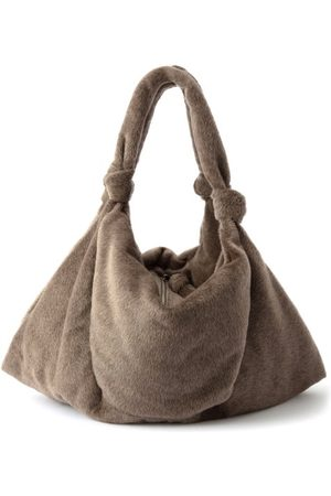 LEMAIRE Dames Shoppers - Large Knotted-strap Tote Bag - Womens - Light Brown