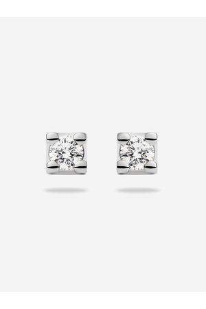 Diamonds by NIKKIE x Royal Coster Diamonds Dames Oorbellen - DIAMANTEN OORBELLEN one size / 750 - White Gold