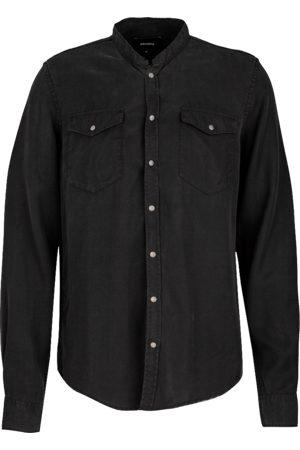 Tigha Heren Overhemd Gent (black)
