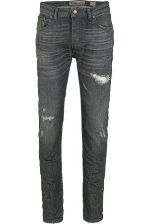 Tigha Heren Slim - Heren Jeans Morten 9941 destroyed (dark grey)