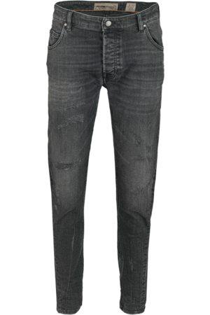 Tigha Heren Jeans Billy the kid 9941 repaired (vintage black)