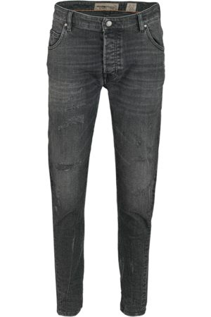 Tigha Heren Jeans Billy the kid 9941 repaired zwart (vintage black)