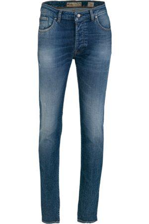 Tigha Heren Jeans Morten 9886 destroyed (dark blue)