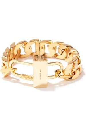 Givenchy G-chain And Padlock Bracelet - Womens - Gold