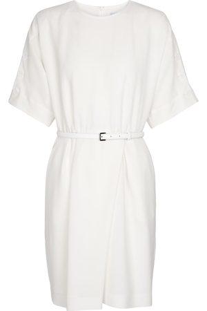 Max Mara Pittura belted wrap minidress