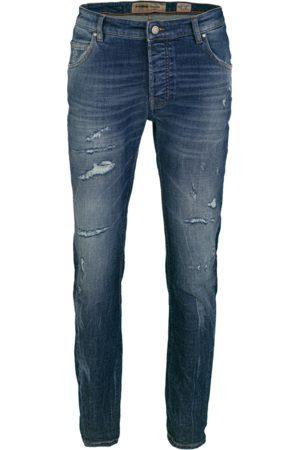 Tigha Heren Jeans Morten 9994 stone wash (mid blue)