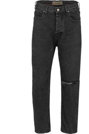 Tigha Heren Jeans Toni 10107 knee cut (vintage black)
