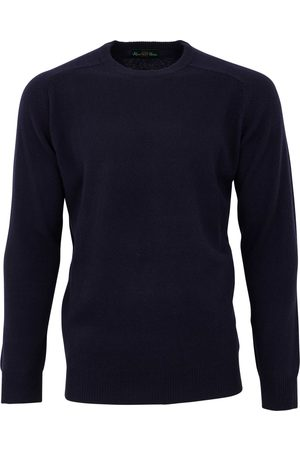 Alan Paine Pullover navy Dorset classic fit ronde