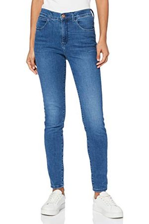 Wrangler Skinny jeans voor dames met hoge taille.