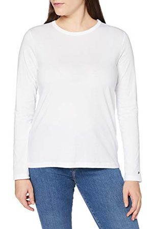 Tommy Hilfiger Dames Th Ess Relaxed C-nk Tee Ls Shirt