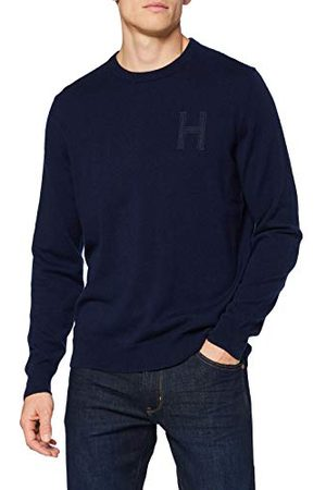 Hackett Hackett Londen Lambswol Hzip Pullover