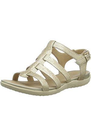 Geox D72R6A000KY, open sandalen met sleehak dames 35 EU