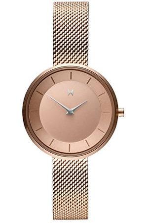 MVMT Dames analoog kwarts horloge met roestvrij stalen armband D-FB01-RGS
