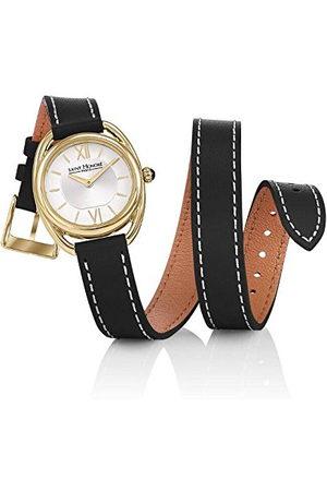 Saint Honore Dames analoog kwarts horloge met lederen armband 7215263AIT-BL