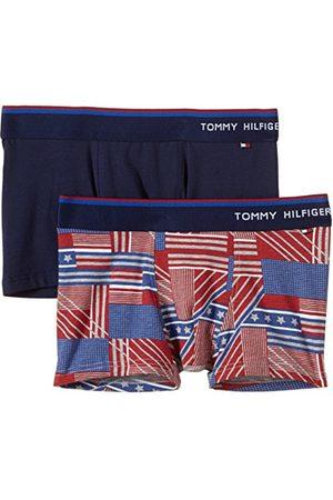 Tommy Hilfiger Boxershorts voor jongens, ALLOVER TRUNK, 2 stuks