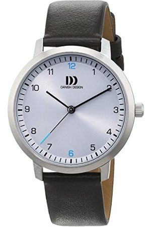 Danish Design Dames analoog kwartshorloge met lederen armband 3324601