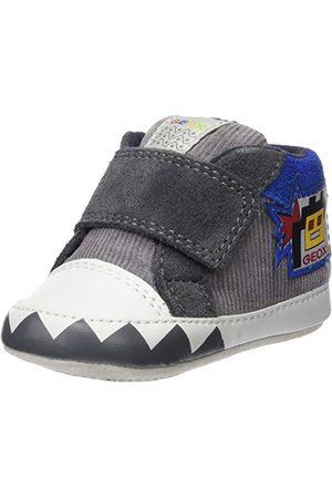 Geox B IAN C kruip- en pantoffels, (Dk GREY/ROYALC0071), 17