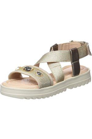 Geox J826EF0NHEW, open sandalen met sleehak Meisjes 29 EU