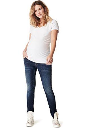 Noppies Dames Jeans OTB Skinny Avi Misty Blue zwangerschapsjeans