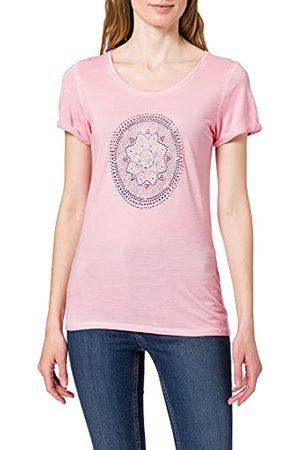 Blue Seven Dames applicatie, T-shirt met ronde hals.