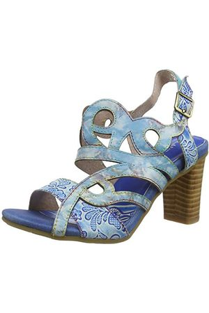 LAURA VITA 0002372, open sandalen met sleehak Dames 38 EU