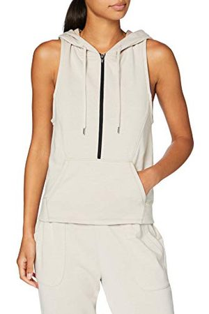 AURIQUE MKSS18AZL01 Vest Top, (Smoke Grey), 14