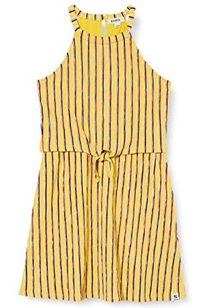 Garcia Meisjes O02482_1681_164 (164/170) jurk, meerkleurig (Yellow Dust 2570), fabrieksmaat