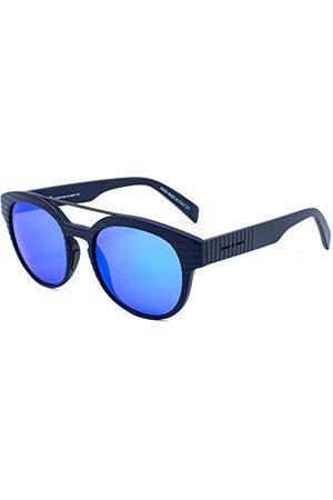 Italia Independent 0900T3D-STR-022 zonnebril, blauw, 50 unisex