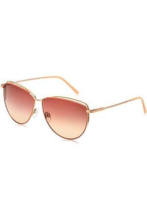 Rodenstock Zonnebril Originals Sun R1430 (dames), lichtgewicht zonnebril in retro stijl, zonnebril vlindermodel met roestvrij stalen montuur