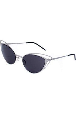 Italia Independent Dames 0218-075-075 zonnebril, (Plateado), 52.0