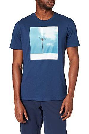 Cortefiel Bedrukt T-shirt, korte mouwen, voor heren.