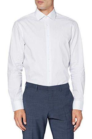 Seidensticker Zijdesticker heren regular lange mouwen print Allover klassiek hemd