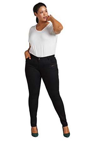 Zizzi Sanna Jeans voor dames, extra slim fit jeansbroek.