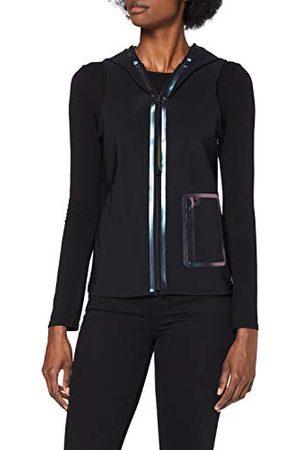 Calvin Klein Dames mouwloze Zip Hoodie Badmode Cover Up