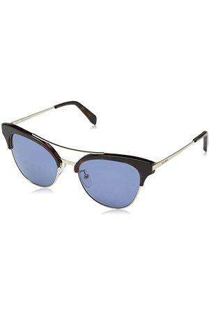 Zadig & Voltaire SZV157-08FF bril, zilverkleurig – Havana, 52/17/135, uniseks, volwassenen