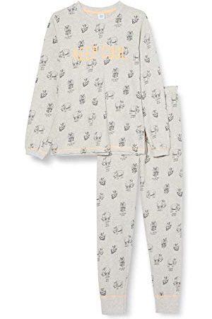 Sanetta Jongens-pyjama's in grijs, voor baby's en peuters.
