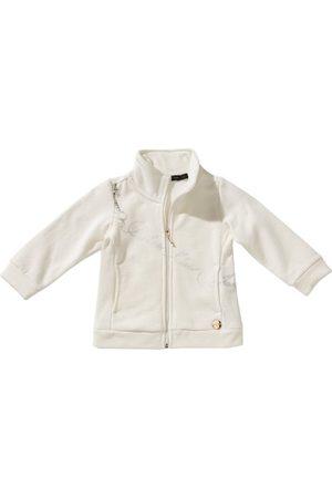 Calvin Klein Jeans Baby meisje sweatshirt CGQ434U1508 98 (3) Bianco (Weiß (002))