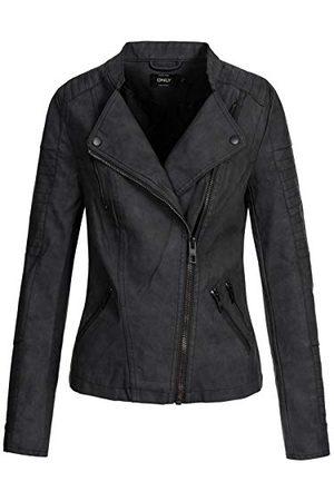 ONLY Leren jas voor dames Onlava Pu Biker Otw Noos
