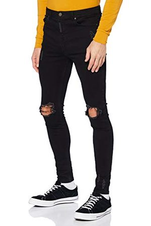 Gianni Kavanagh Black Core Ripped Jeans voor heren